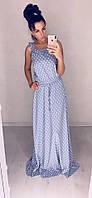 Платье  женское длинное  Кокетка, фото 1