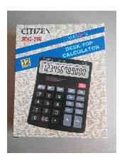 Калькулятор Citizen SDC-519, фото 3