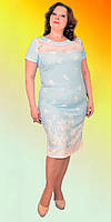 Женское летнее платье большого размера