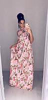 Платье женское длинное    Дарина, фото 1