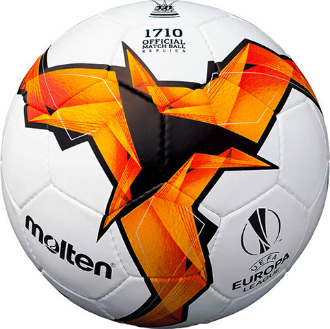 Мяч футбольный Molten UEFA Europa League F5U1710-K19
