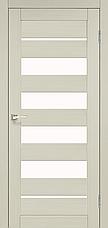 Двери KORFAD PND-03 Полотно+коробка+2 к-та наличников+добор 100мм, эко-шпон, фото 3