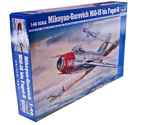 Набор для склеивания пластиковой модели советского истребителя МИГ-15бис (Fagot-B)1, арт. TR02806