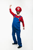 Супер Марио карнавальный мужской костюм \ размер универсальный \ BL - ВМ265