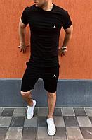 Мужской летний набор футболка+шорты Air Jordan ST163, Реплика