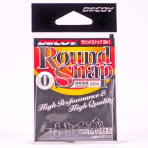 Застёжка Decoy Round Snap №0 20lb (13 шт.)