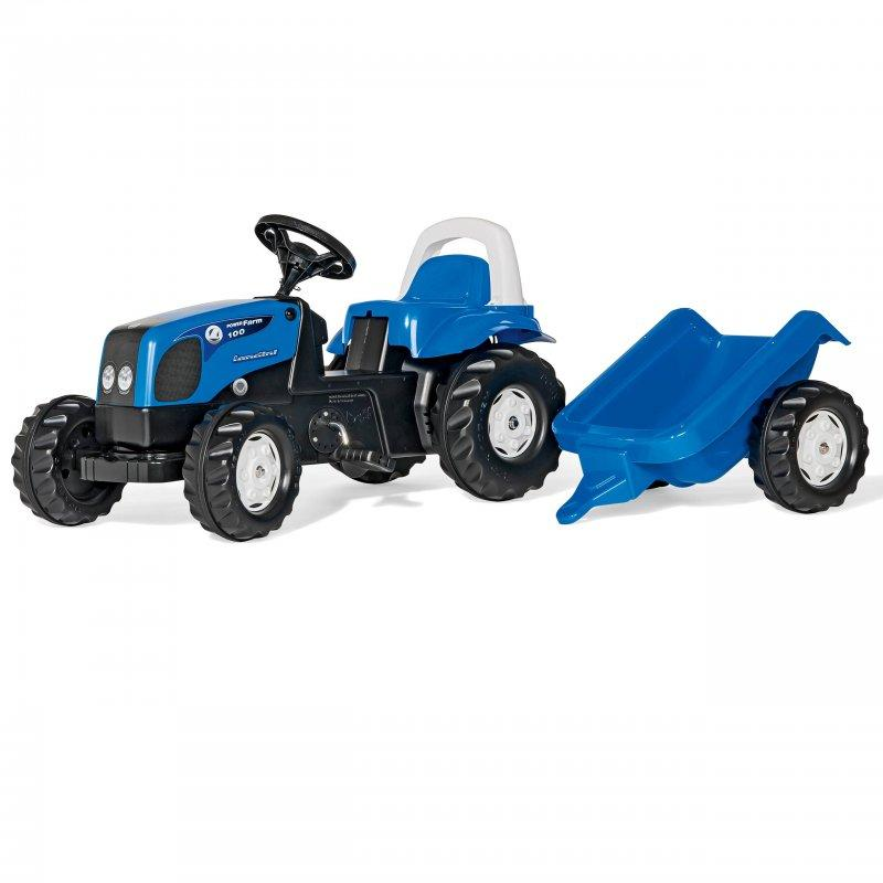 Трактор Ландіна з причепом Rolly Toys 011841