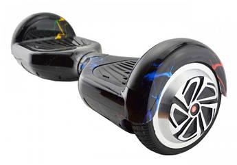 """Гироскутер гироборд Smart Balance Wheel 6.5"""" A3 с автобалансом и пультом Bluetooth Цветная молния"""
