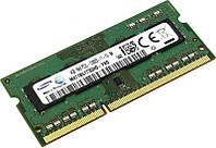 Оперативная память для ноутбука Sodimm DDR3L 4GB 1600mhz PC3L-12800  бу
