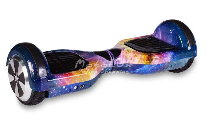 """Гироскутер гироборд Smart Balance Wheel 6.5"""" A3 с автобалансом и пультом Bluetooth Kosmos Синий космос"""