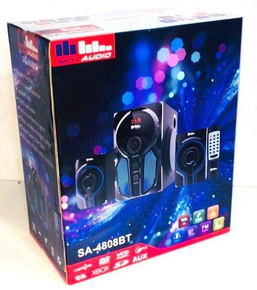 Акустическая система Sky Audio 2.1, SA-4808BT, Bluetooth