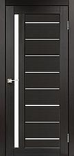 Двери KORFAD VND-02 Полотно+коробка+2 к-та наличников+добор 100мм, эко-шпон, фото 3