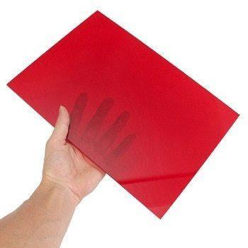 Акрил екструдований Plexiglas, червоний, 3 мм, лист 3050х2050мм, фото 2