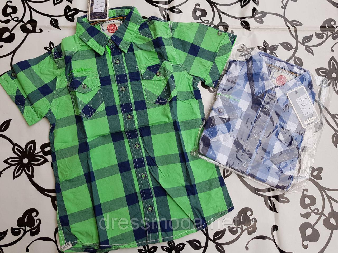 Сорочки для хлопчиків Nature 8-16 років