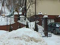 Ворота відкатні, фото 1