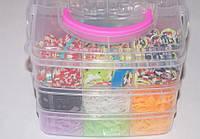 Набор для плетения браслетов в сундуке 2250 шт.
