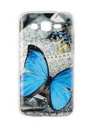 "Пластиковый чехол на Samsung G7106 g7102 G7108 Galaxy Grand 2 Duos ""бабочка"""