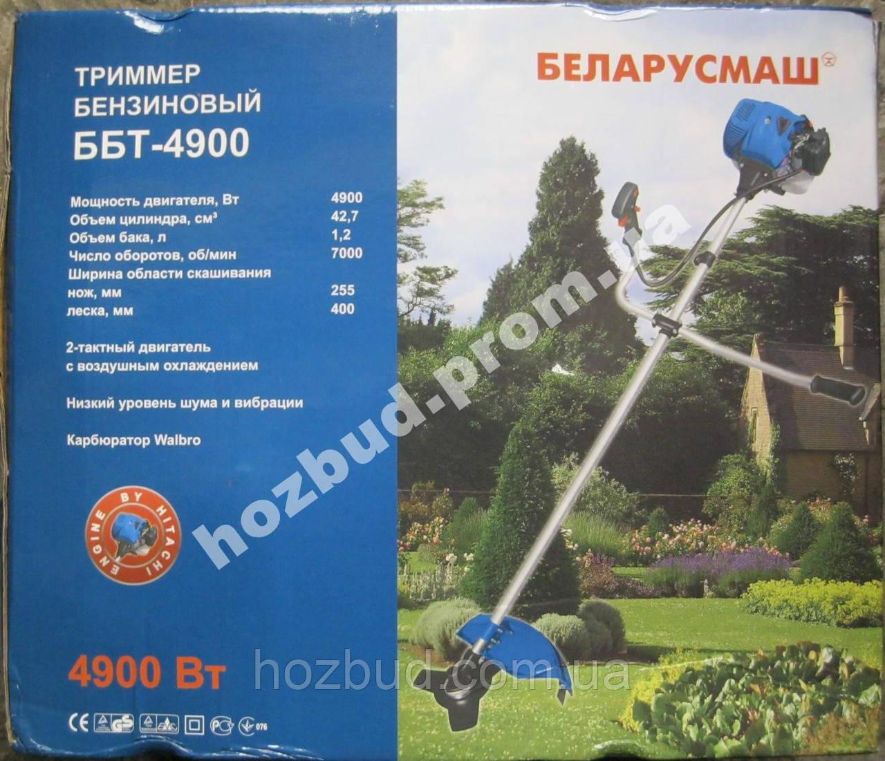 Тример бензиновый Беларусмаш ББТ-4900