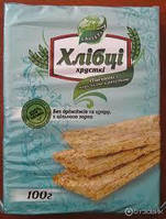 Хлебцы-Луганцы Галетти пшеничные с морской капустой,без дрожжей и сахара,100г