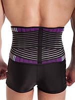 Пояс для поясницы\бандаж для спины из неопрена поддерживающий с ребрами жесткости, фото 4