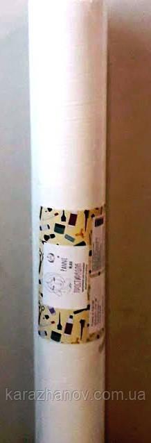 Простынь одноразовая белая, из нетканого материала, спанбонд в рулоне 0,8м*100п.м.