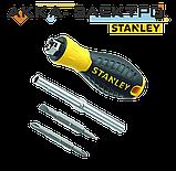 Отвертка Stanley 6 Way со сменными битами 6 в 1 190 мм (0-68-012), фото 2