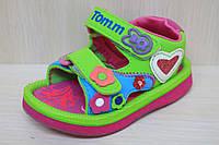 Пенковые сандалии на девочку, детская летняя обувь, пляжная обувь пенка тм Том р. 20
