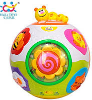 Игрушка детская музыкальная Hola Toys Счастливый мячик (938)