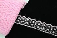 """Синтетическое кружево """"Callicoma"""" для декративной отделки, розовый, длина 23м, Кружевная тесьма, Кружевная лента"""