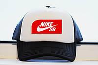 Кепка Nike SB черная летняя принт реплика , фото 1