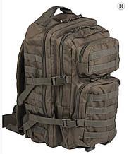 """Рюкзак """"Mil-Tec"""" us ASSAULT Pack LG MOLLY  Olive 36л"""