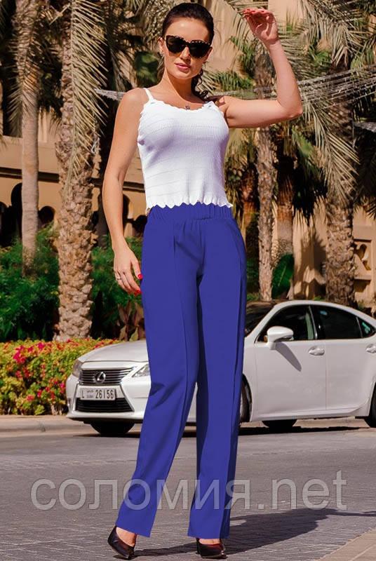 Классические женские летние брюки 42-60р