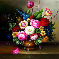 Алмазные картины горный хрусталь рукоделие ручной мозаика фотографии ваза для цветов алмаз