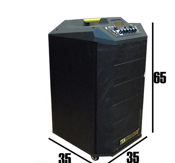 Колонка Temeisheng QX-1215 аккумуляторная,USB, Bluetooth, 2 микрофона
