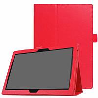 """Чехол книжка для Lenovo Tab 4 10 TB-X304 / Tab 4 10 Plus TB-X704 10.1"""" TTX Leather Book Красный"""