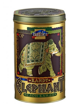Чай черный Battler Слон Канди 100 гр. Ж/Б
