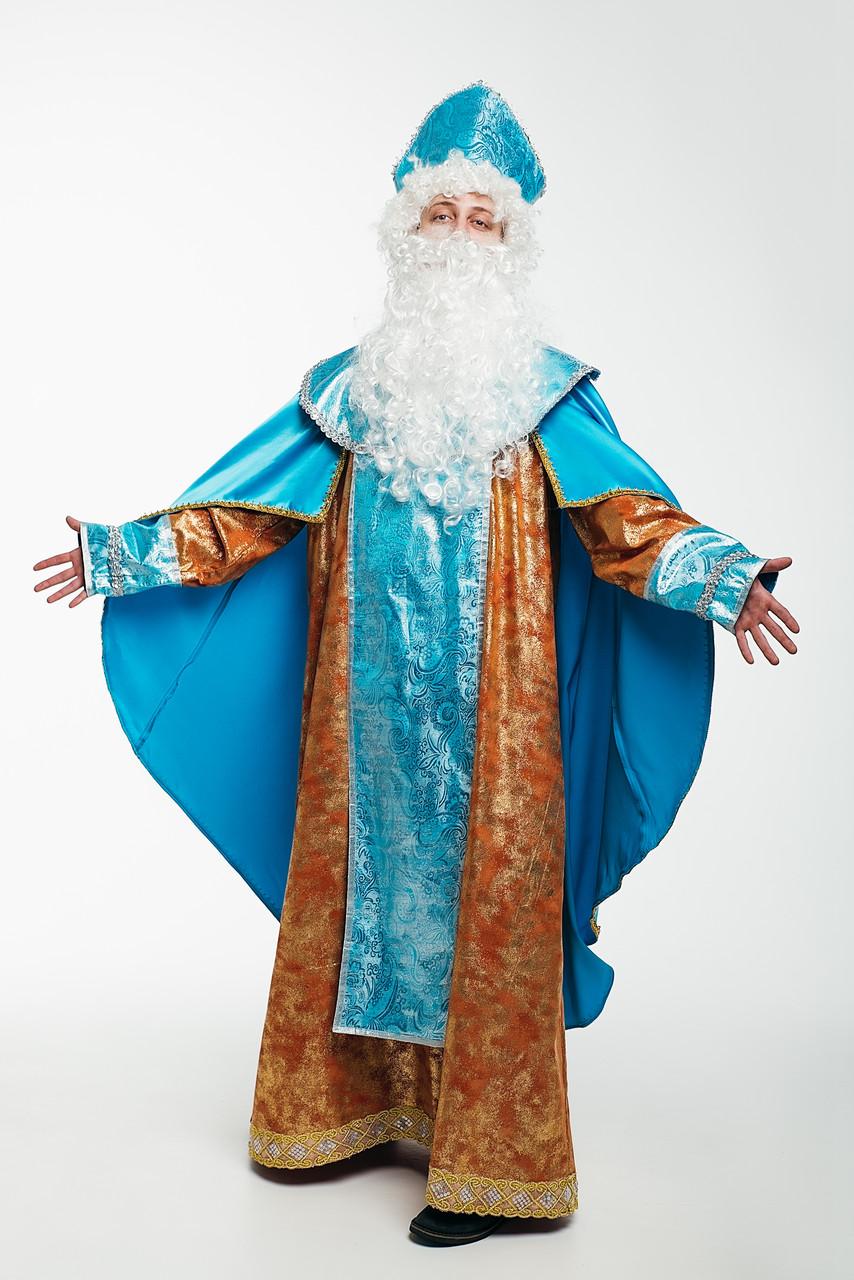 Святой Николай Люкс мужской карнавальный костюм \ размер универсальный \ BL - ВМ259