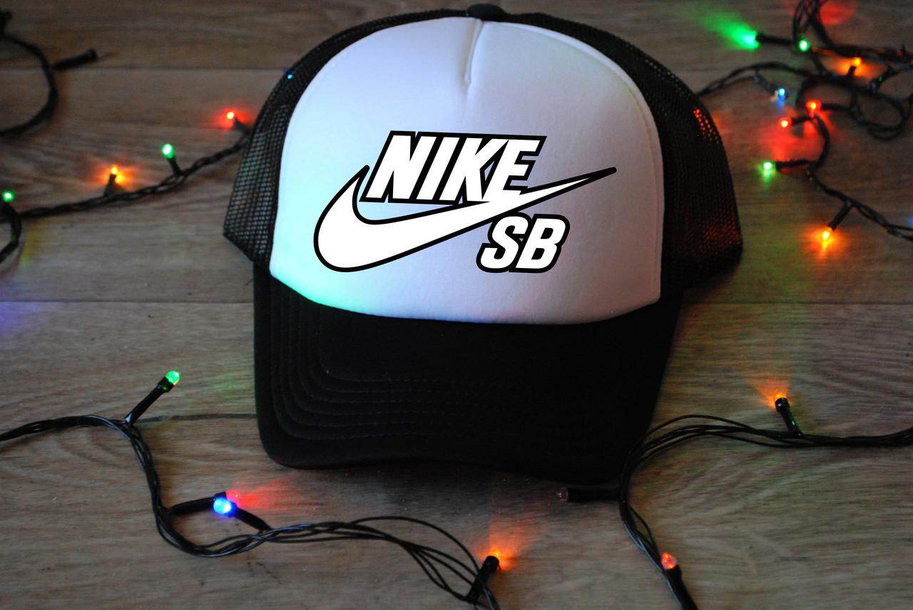 Кепка cap Nike SB свой логотип принт реплика