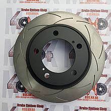 Диск тормозной передний DBA  2722S  для Toyota LC200 / LX570 340 mm