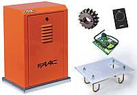 FAAC 884 MC KIT — автоматика для відкатних воріт (стулка до 3500 кг), фото 1