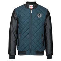 Мужская куртка бомбер Lee Cooper Quilted Bomber синяя оригинал (J0097/97)