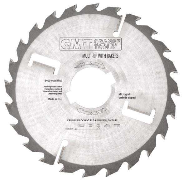 Пильный диск CMT 300x80x4x24  для многопила с широким пропилом,продольный рез
