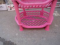 Этажерка Efe розовая