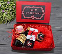 Эротический набор Секс Рандеву красный, фото 1