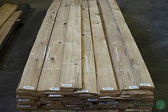 Шпон Дуба (сучки) - 0,55 мм 2,60 м+/9 см+ (струганий)
