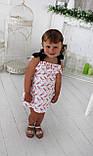 "Летний детский сарафан ""Колибри"" от 2 до 3 лет, фото 4"