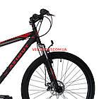 """Горный велосипед Azimut Energy 29 GD 19"""" черно-красный, фото 3"""