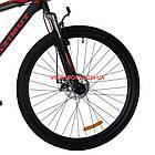"""Горный велосипед Azimut Energy 29 GD 19"""" черно-красный, фото 4"""