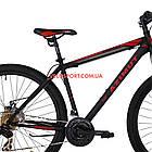 """Горный велосипед Azimut Energy 29 GD 19"""" черно-красный, фото 5"""