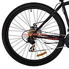 """Горный велосипед Azimut Energy 29 GD 19"""" черно-красный, фото 6"""
